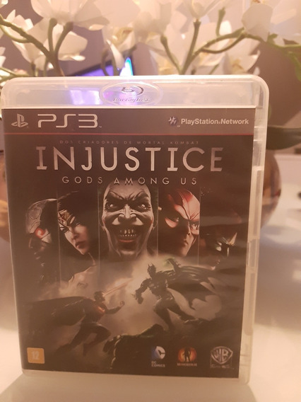 Injustice Gods Among Us Ps3 Midia Fisica
