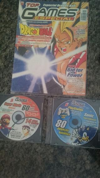 Revista Top Games Evolution Especial Dragon Ball 02 20 24