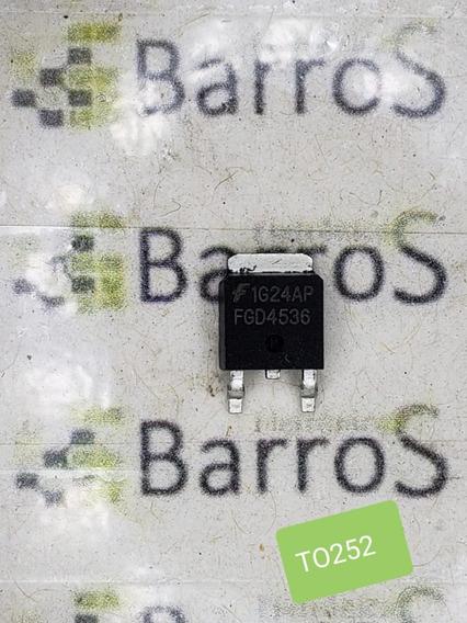 Fgd4536 To252 Transistor - Novo E Original