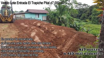 Lote 471m Para Construir Pital San Carlos