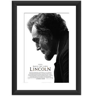 Quadro Lincoln Filme Presidente Americano Cult Decorar Salas