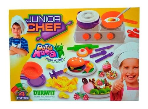 Juego De Masa Duravit Junior Chef Art 730 Cocina Set