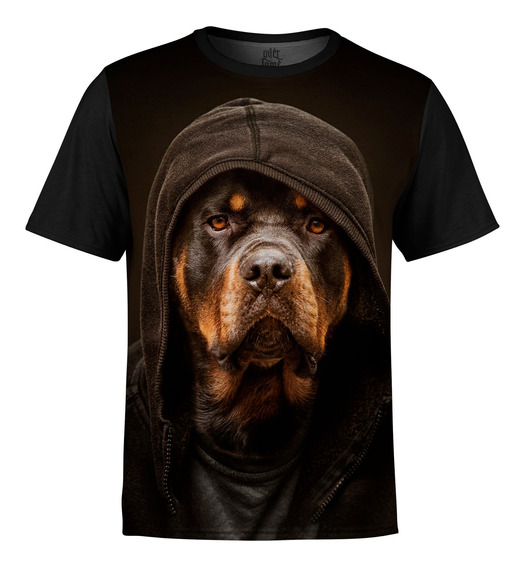 Camiseta Masculina Rottweiler Md01