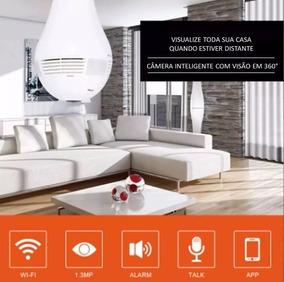 Câmera Lampada Panorâmica Visao 360º Wifi V380! Envio 24hs