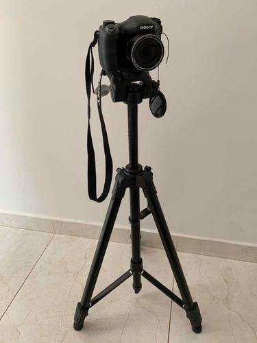 Câmera Cyber-shot Dsc H100 - Sony + Tripé