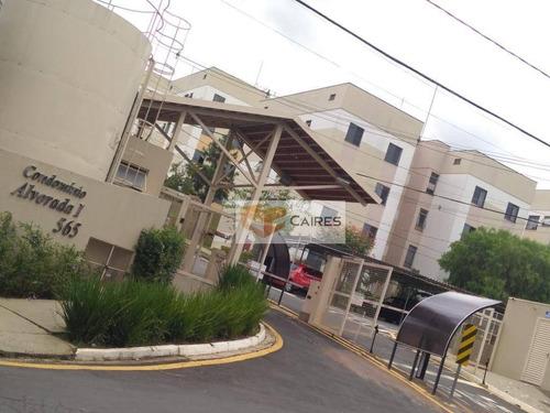 Apartamento Com 2 Dormitórios À Venda, 49 M² Por R$ 180.000,00 - Parque Das Colinas - Valinhos/sp - Ap7932