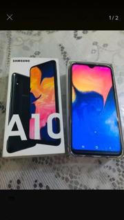 Smartphone Samsung Galaxy A10 32gb 6.2 2gb Ram Câmera Trase