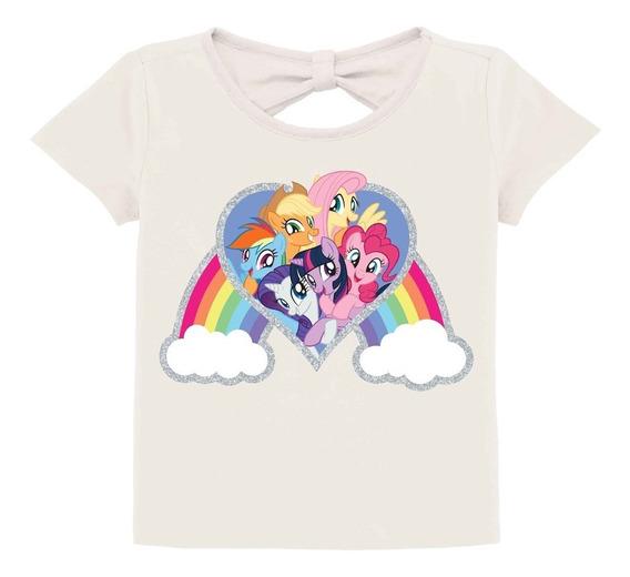 Remera Mi Pequeño Pony, Hasbro Original Usa,