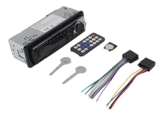 1 Din Carro Mp3 Player Fm Rádio Áudio Estéreo Em Traço Aux E