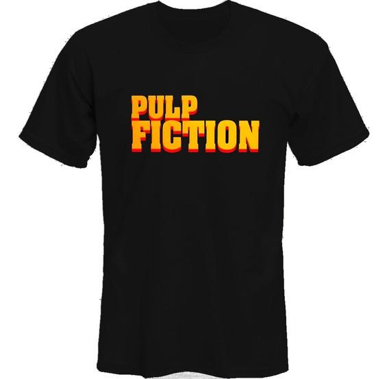 Remeras Pulp Fiction Mia Logo Tarantino *mr Korneforos*