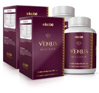 Kit 02 Vênus Saúde Sexual Da Mulher 100% Natural Ekobé