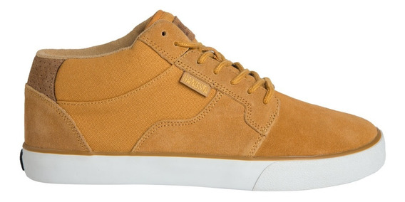 Zapatillas Rail Mid Camel Gangsta