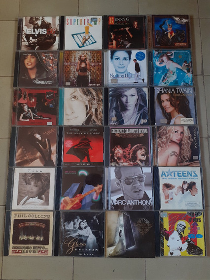 Cds Originales (rock Internacional Y Nacional)