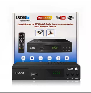 Sintonizador Para Tv Digital Abierta Isbd-t Wifi Youtube
