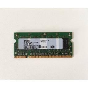 Memoria Sansung 1g 2x 512mb 2rx16 Pc2-5300s-555-12-a3