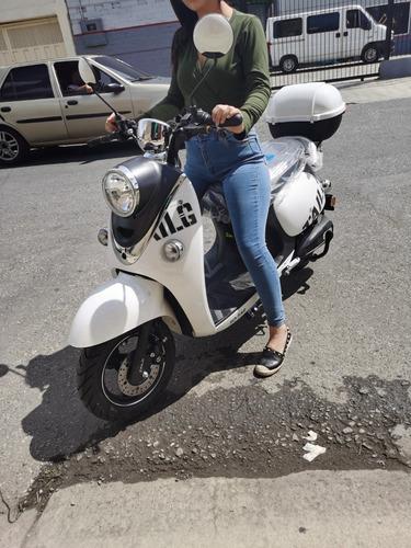 Moto Electrica Meng Tipo Vespa 80kmh