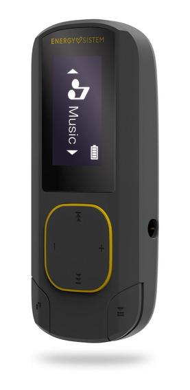 Mp3 Energy Sistem Clip Bt Sport 16gb Radio Fm Amber