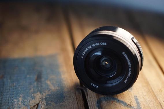 Lente Sony 16-50mm 3.5-5.6 Com Pouco Tempo De Uso