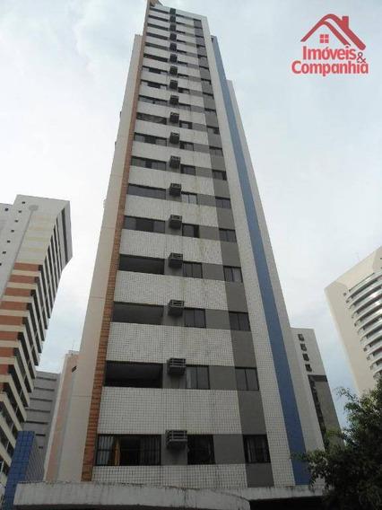 Apartamento Com 3 Dormitórios À Venda, 66 M² - Meireles - Fortaleza/ce - Ap1602
