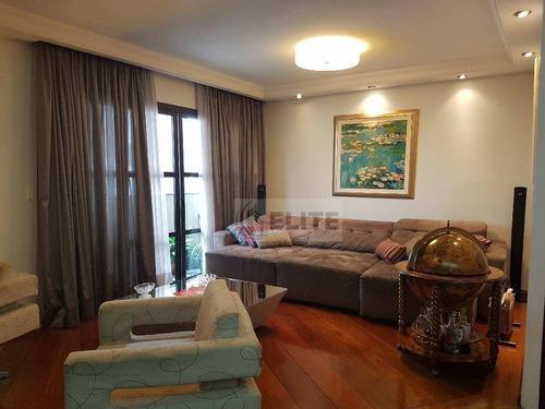 Apartamento Com 3 Dormitórios À Venda, 173 M² Por R$ 850.000,00 - Vila Bastos - Santo André/sp - Ap6271