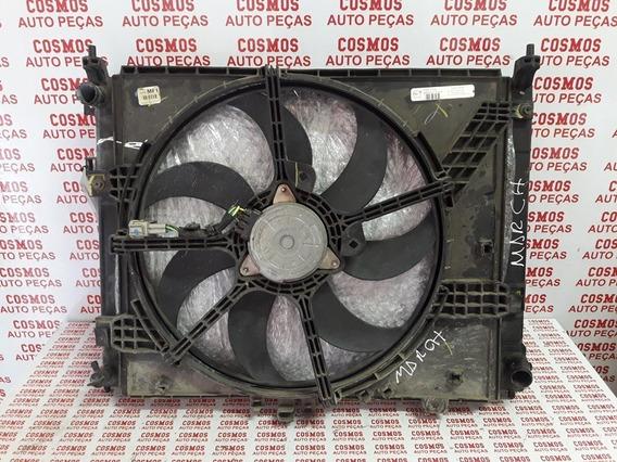 Radiador Completo Nissan March 1.6 16v Com Ar Condicionado
