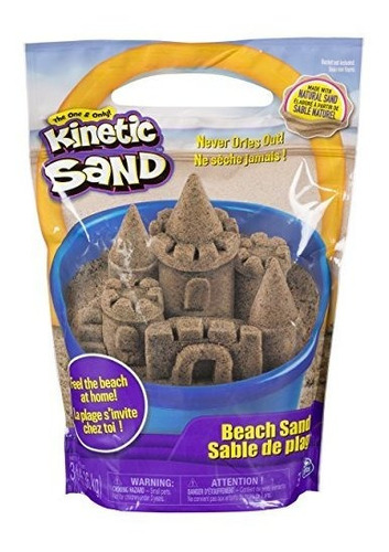 The One And Only Kinetic Sand, Arena De Playa De 3 Lbs Para