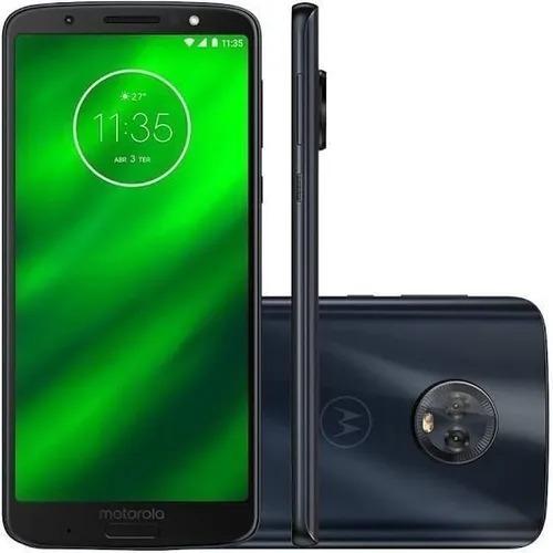 Smartephone Motorola G6 64gb 4ram Dual 4g Tela 5.9 +capinha