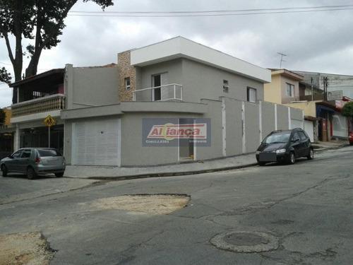 Sobrado Com 3 Dormitórios À Venda, 130 M² Por R$ 700.000,00 - Vila Moreira - Guarulhos/sp - Ai260