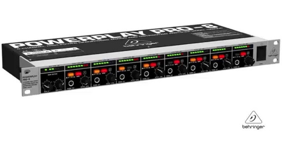 Amplificador Power Play Pro-8 Behringer Ha-8000 C/ Garantia