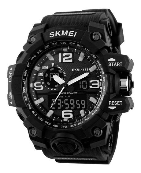Relógio Masculino Dual Hora Skmei Esportivo Estoque Limitado
