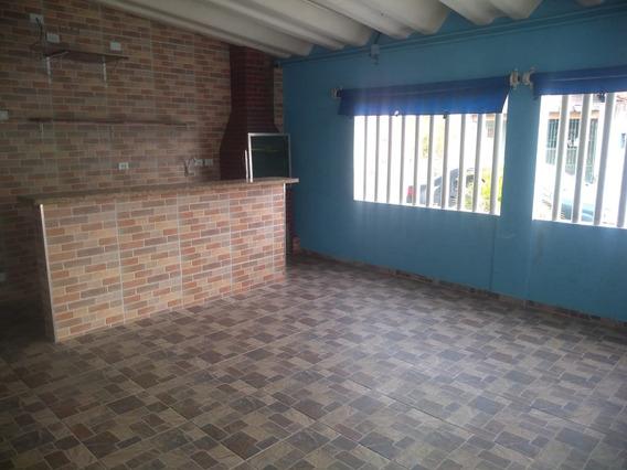 Fj370 - Casa 2 Dorm - Ent 100 Mil - Maracanã - Praia Grande