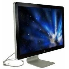Monitor Apple Cinema Thunderbolt Display A1267 - 24 Widescreen Lcd - Ver Detalhe No Anúncio
