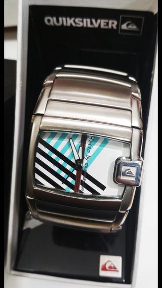 Relógio Quicksilver Na Caixa Zerado.
