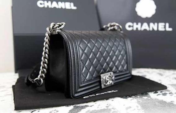 Chanel Le Boy Bag Caviar