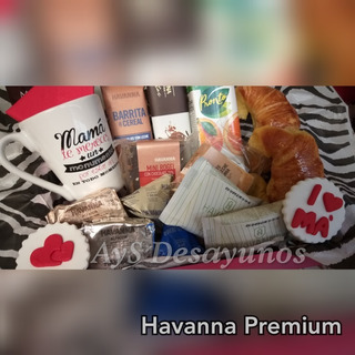 Desayuno Havanna Dia De La Madre Premium Envio S/c V. Urquiz