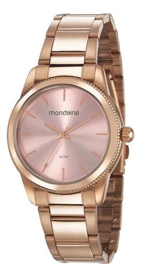 Relógio Feminino Analógico Com Colar Mondaine