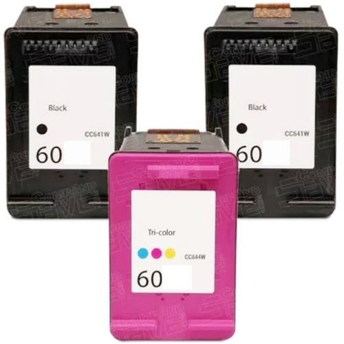 Três Cartuchos 60 Impressora F4280 F4480 C4680 D110 S