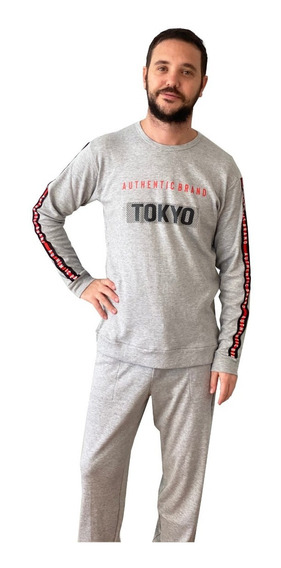 Pijama De Invierno Hombre Tokyo