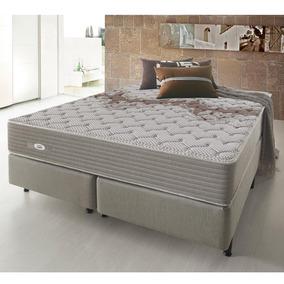 660bb0149 Cama Box Queen Ecoflex Excellence 158x198x63 Cm Molas Superl - Casa ...