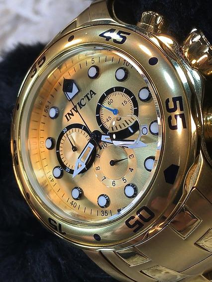 Relógio Invicta Pro Diver Dourado