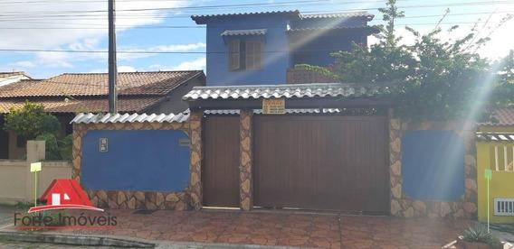 Casa Duplex C/3 Dormitórios C/ Vista Privilegiada Em Cabo Frio - Rj - Ca0175