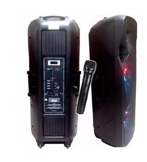 Parlante Harrison Boing Plus Sp-kja760b 1400w Pmpo Microfono
