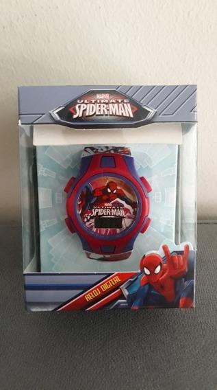 Relógio Digital Spiderman Infantil - Homem Aranha