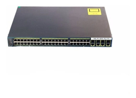 Cisco - Switch C2960g-48-tc-lv02 - Somente Switch