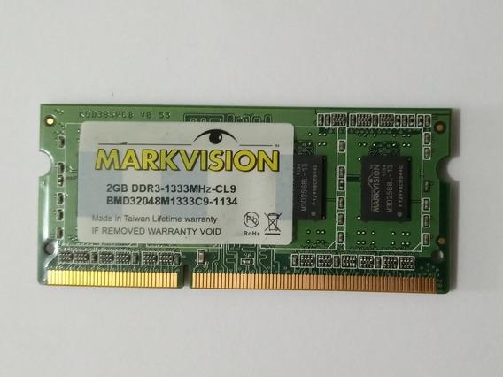 Memoria Ram 2gb Pc3 Ddr 10600 1.333mhz