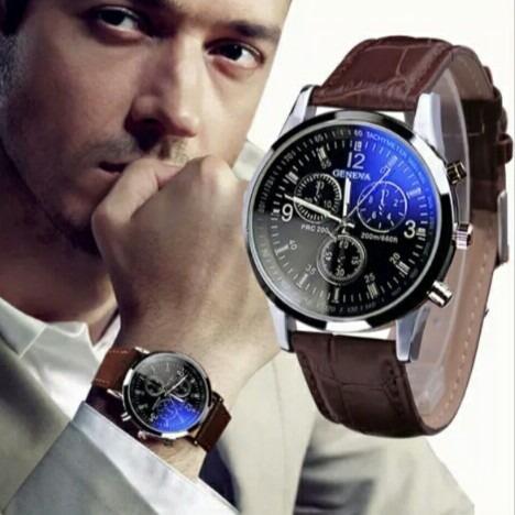 Relógio Masculino Social Luxo Original - Promoção De Natal