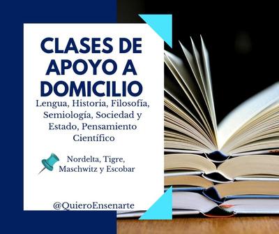 Apoyo Y Clases Particular Lic. Y Prof. En Letras Y Filosofía