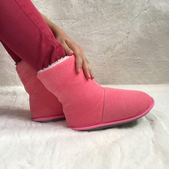 Pantufa Bota Polar Sapato Cano Longo Super Quentinhas F/m