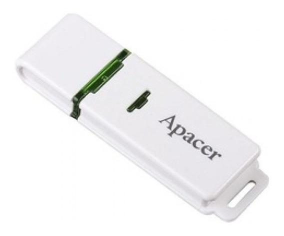 Pen Drive 16gb Apacer - Branco - Ah223 - 2.0