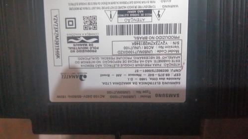 Imagem 1 de 7 de Smart Tv Samsung  Un50nu7100
